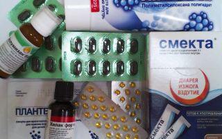 Лекарства от вздутия живота и газообразования