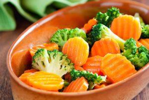Овощное блюдо при гастрите