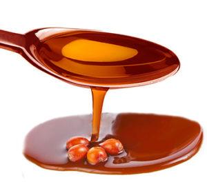 Облепиховое масло пьют по столовой ложке