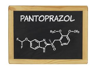 Химическая формула пантопразола
