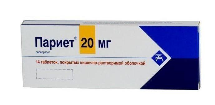 Париет 20 мг