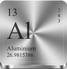 В Алмагеле содержится Алюминий