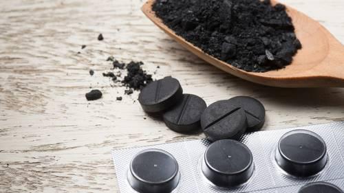 Толченый активированный уголь